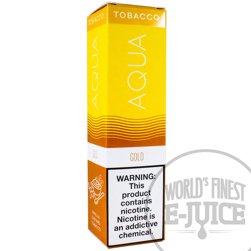 AQUA Tobacco E-Juice - Gold VCT