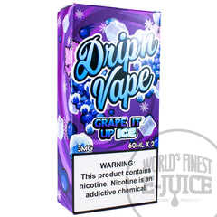 Drip'n Vape E-Juice - Grape It Up On Ice