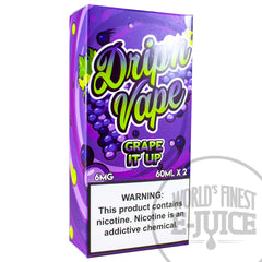 Drip'n Vape E-Juice - Grape It Up
