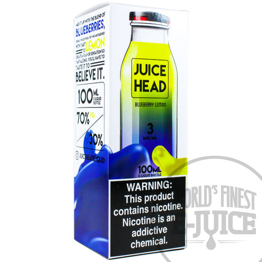 Juice Head E-Juice - Blueberry Lemon