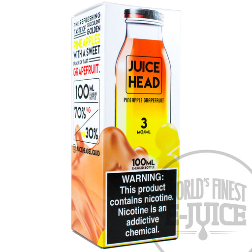 Juice Head E-Juice - Pineapple Grapefruit
