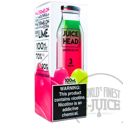 Juice Head E-Juice - Watermelon Lime