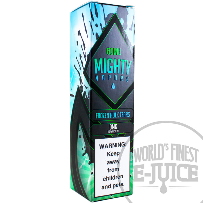 Mighty Vapors EJuice - Frozen Hulk Tears