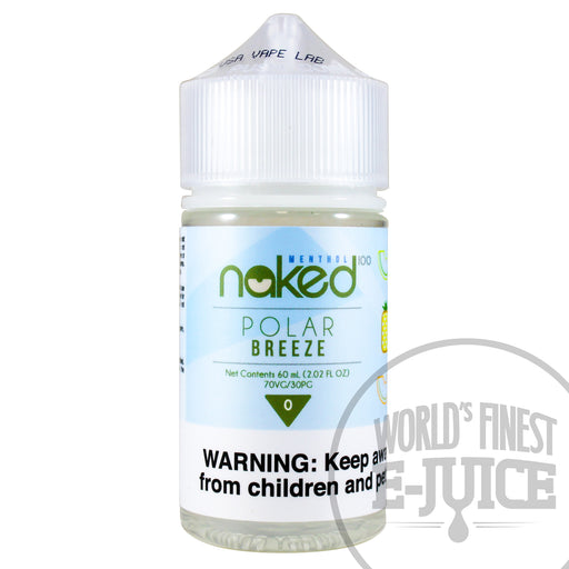 Naked 100 E-Juice - Polar Breeze