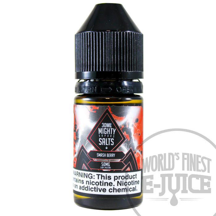Mighty Vapors Salt E-Juice - Smash Berry