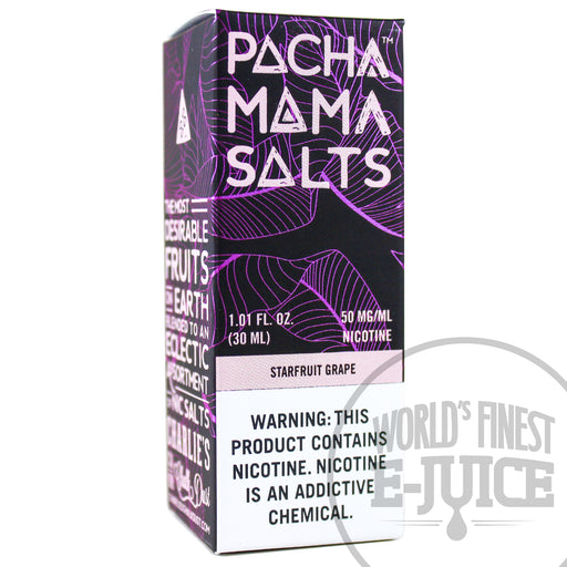 Pacha Mama Salt E-Juice - Starfruit Grape