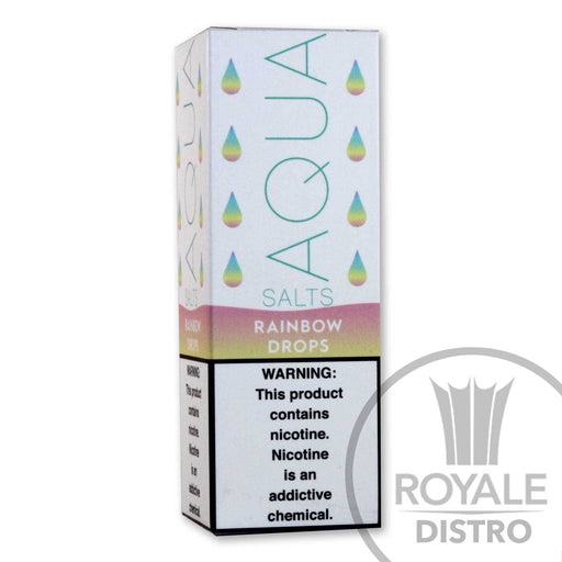 AQUA Salt E-Liquid - Rainbow Drops