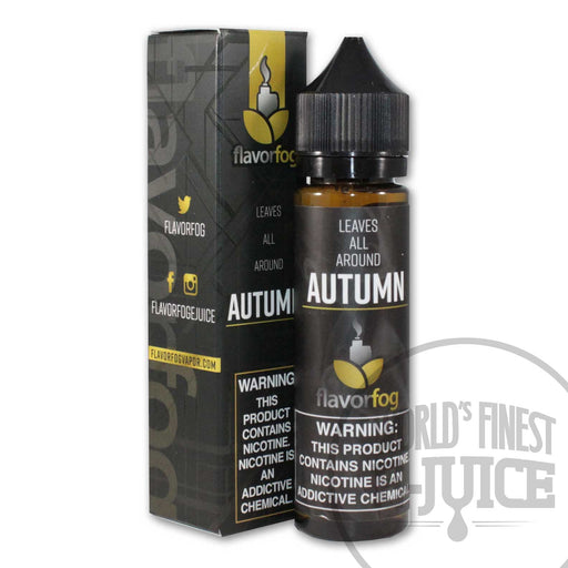 FlavorFog E-Juice - Autumn
