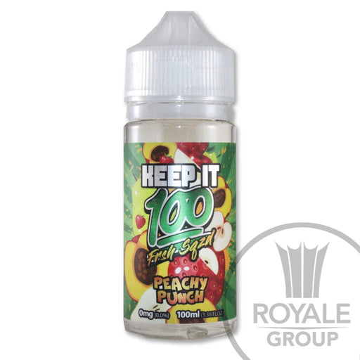 Keep It 100 E-Juice - Peachy Punch