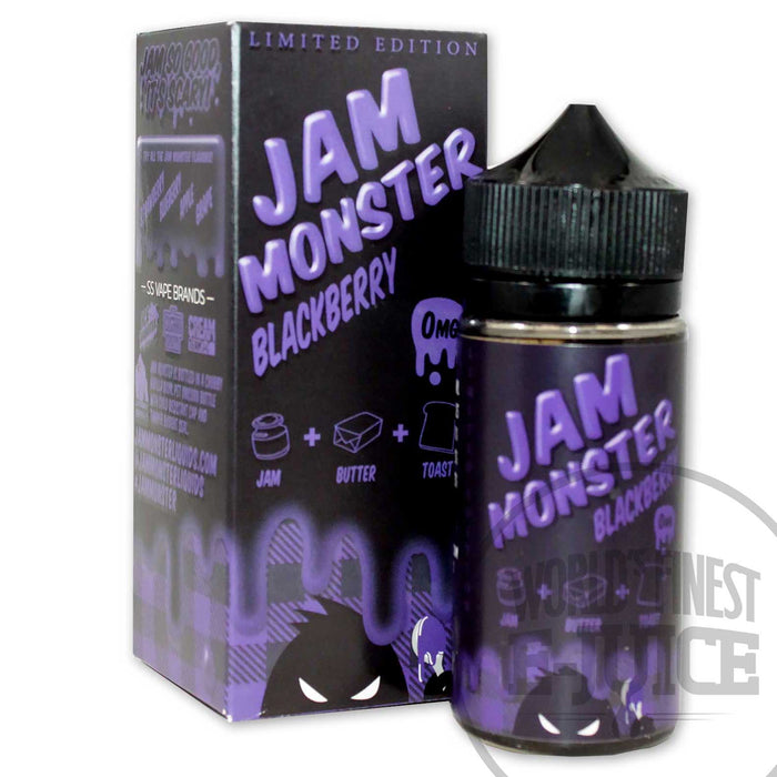 Jam Monster E-Juice - Blackberry Jam