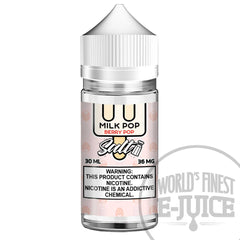 Milk Pop Salt E-Juice - Berry Pop