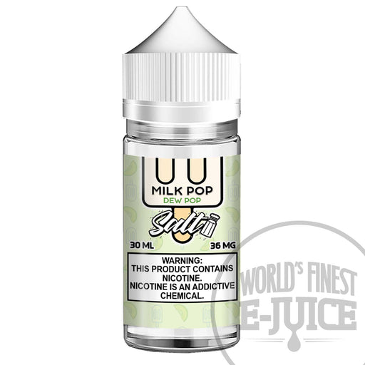 Milk Pop Salt E-Juice - Dew Pop