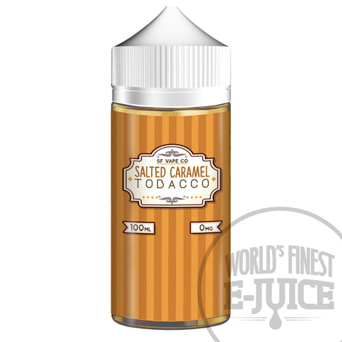 Salted Caramel Tobacco E-Juice