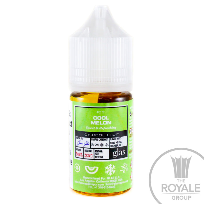 Glas BASIX Salt E-Juice - Cool Melon