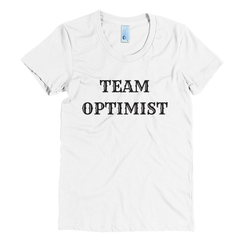 pebble and roset team optimist t-shirt in white classic cotton crew