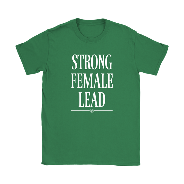 T-shirt - Strong Female Lead Cotton Crewneck Tee