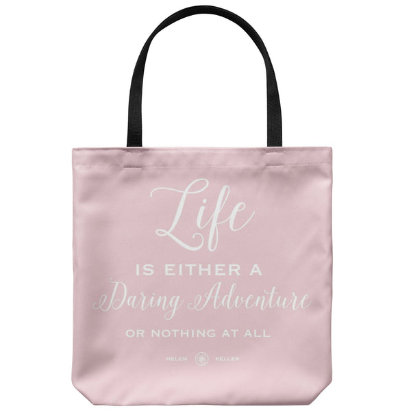 Tote Bags - Daring Adventure Tote Bag - FREE Shipping