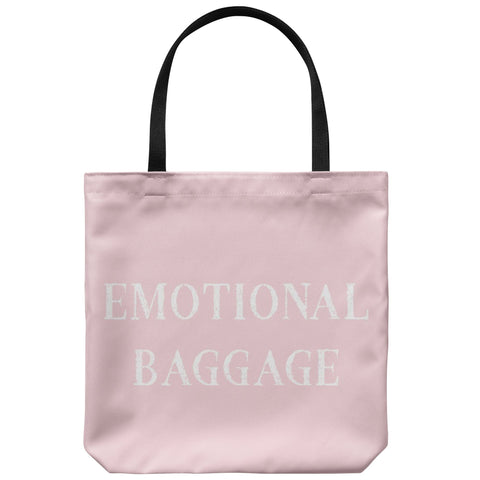 Tote Bags - Emotional Baggage Tote Bag - FREE Shipping