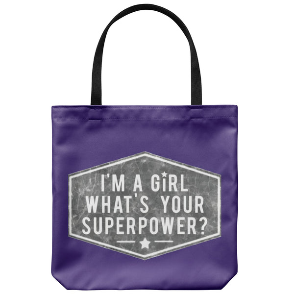 Tote Bags - Girl Power Tote