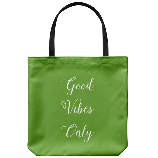 Tote Bags - Good Vibes Only Tote Bag - FREE Shipping
