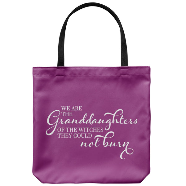 Tote Bags - Witches They Could Not Burn Bag - FREE Shipping