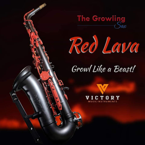 TGS RED LAVA Special Edition Professional Alto Saxophone