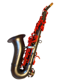TGS Red Lava SE Professional Curved Soprano Saxophone