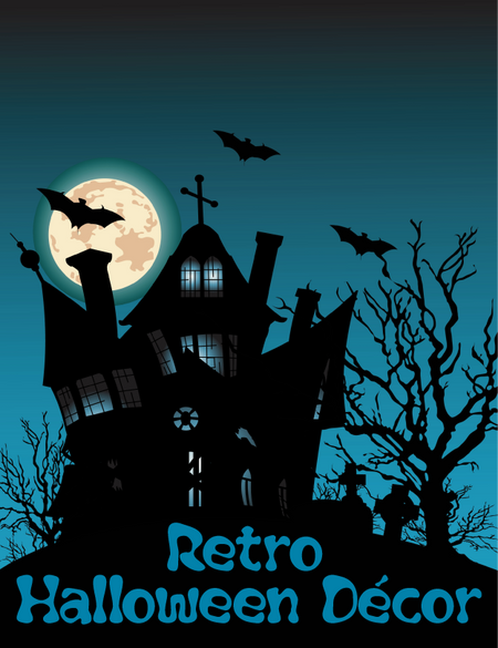 Retro Halloween Decor