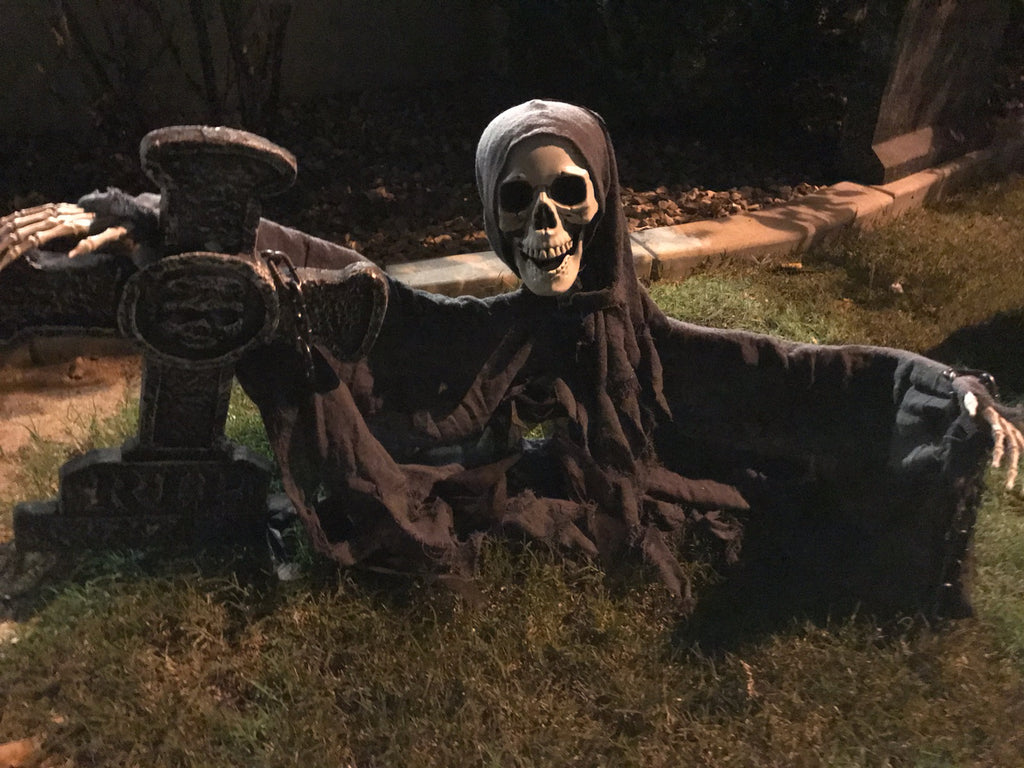 "The Grave Yard Shift Collection- ""Alcatraz Unchained"" Outdoor Halloween Decoration"