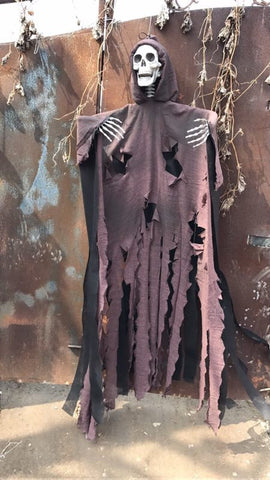 """The Mad Monk"" Catacomb Collection five foot hanging Halloween skeleton"