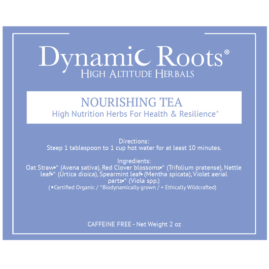 Nourishing Tea: High Nutrition Herbs for Health & Resilience