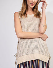 Sleeveless Knitted Sweater