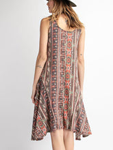 Tribal Print Dress