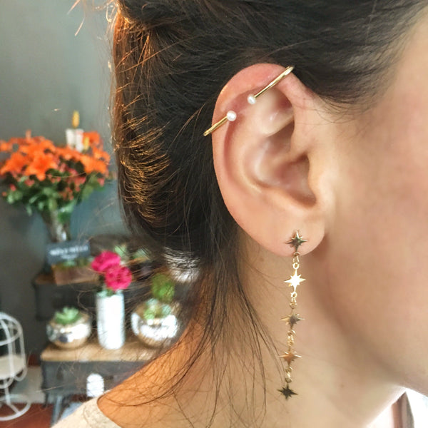 Aretes North Star Largos
