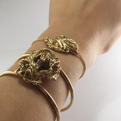 Brazalete Liquid Gold