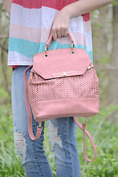 Jill backpack (pink)