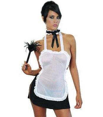 """Ooh LAh LAh"" french maid costume by Dreamgirl"