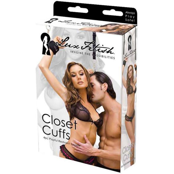 Closet Cuffs by Lux Fetish