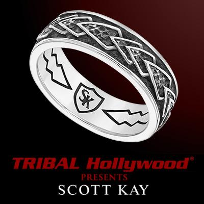 Sterling Silver ARROWHEAD RING for Men by Scott Kay