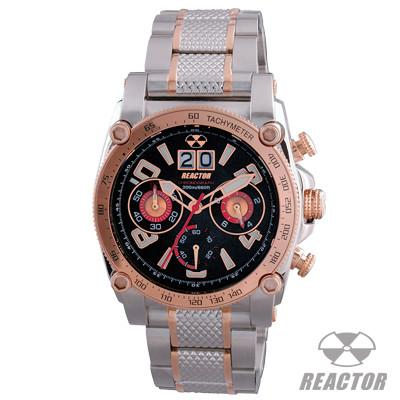 Mens Watch WARP ROSE GOLD Stainless Steel Reactor Watch