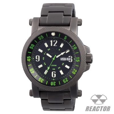 Mens Watch FALLOUT GREEN AND BLACK Reactor Watches