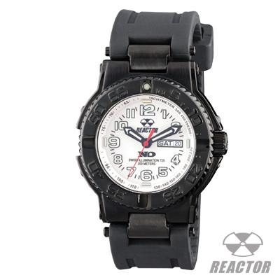 Reactor Watches TRIDENT WHITE Mens Sports Watch With Rubber Strap | Tribal Hollywood