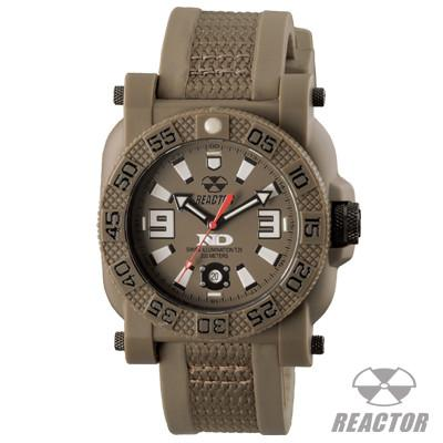 Mens Military Watch GRYPHON DARK EARTH Reactor Watches