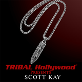 BULLET CROSS Scott Kay Mens Sterling Silver Necklace