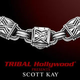 CHEVRON BRACELET for Men in Sterling Silver by Scott Kay