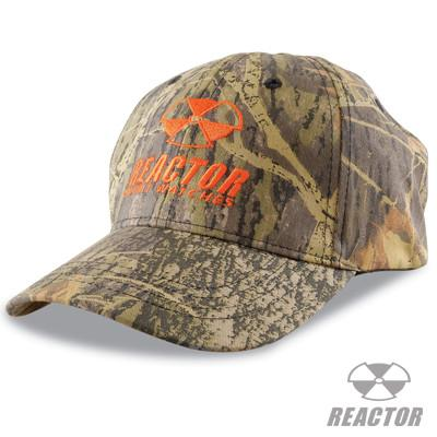 Reactor Watches Camouflage Logo Ball Cap in Cotton Twill