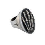 REACHING HAND RING Skeleton Hand Ring for Men by BICO Australia