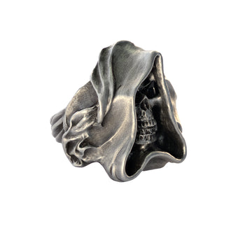 THE MAGE RING Cloaked Skull Mens Ring by BICO Australia