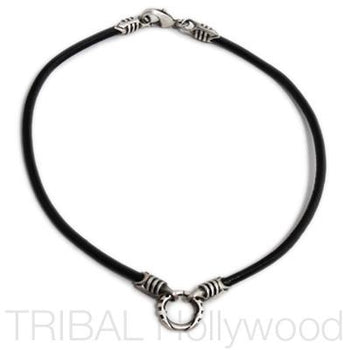 Men Necklace Tribal Leather