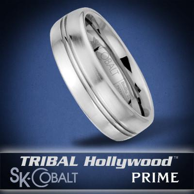 DELTA PRIME Ring SK Cobalt Men's Wedding Band by Scott Kay